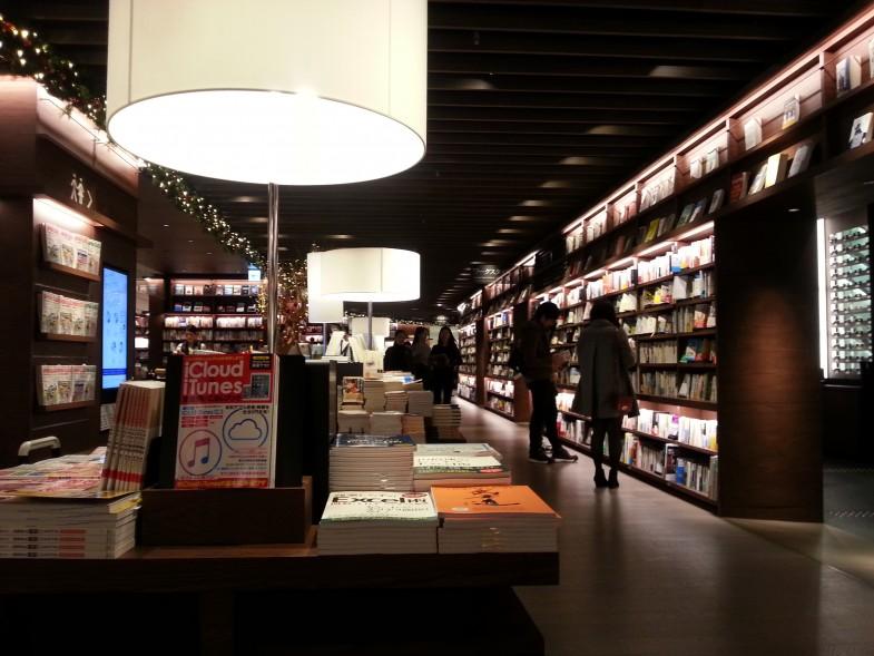 梅田ルクアイーレの蔦屋書店を好きになりました!
