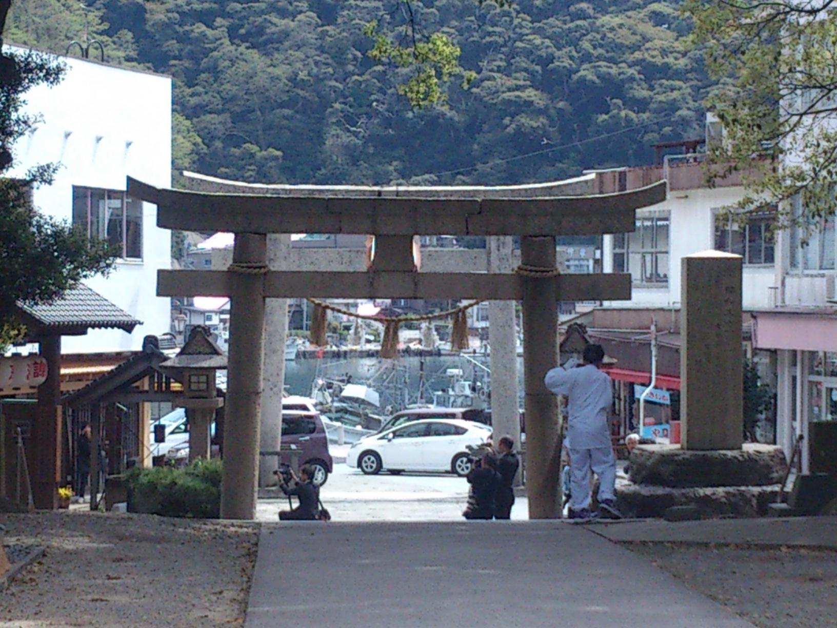 島根県のパワースポット美保神社♪