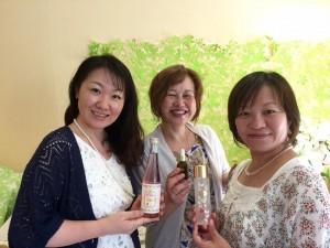 香川県からラボ塾卒業生が施術を受けに来られました♪